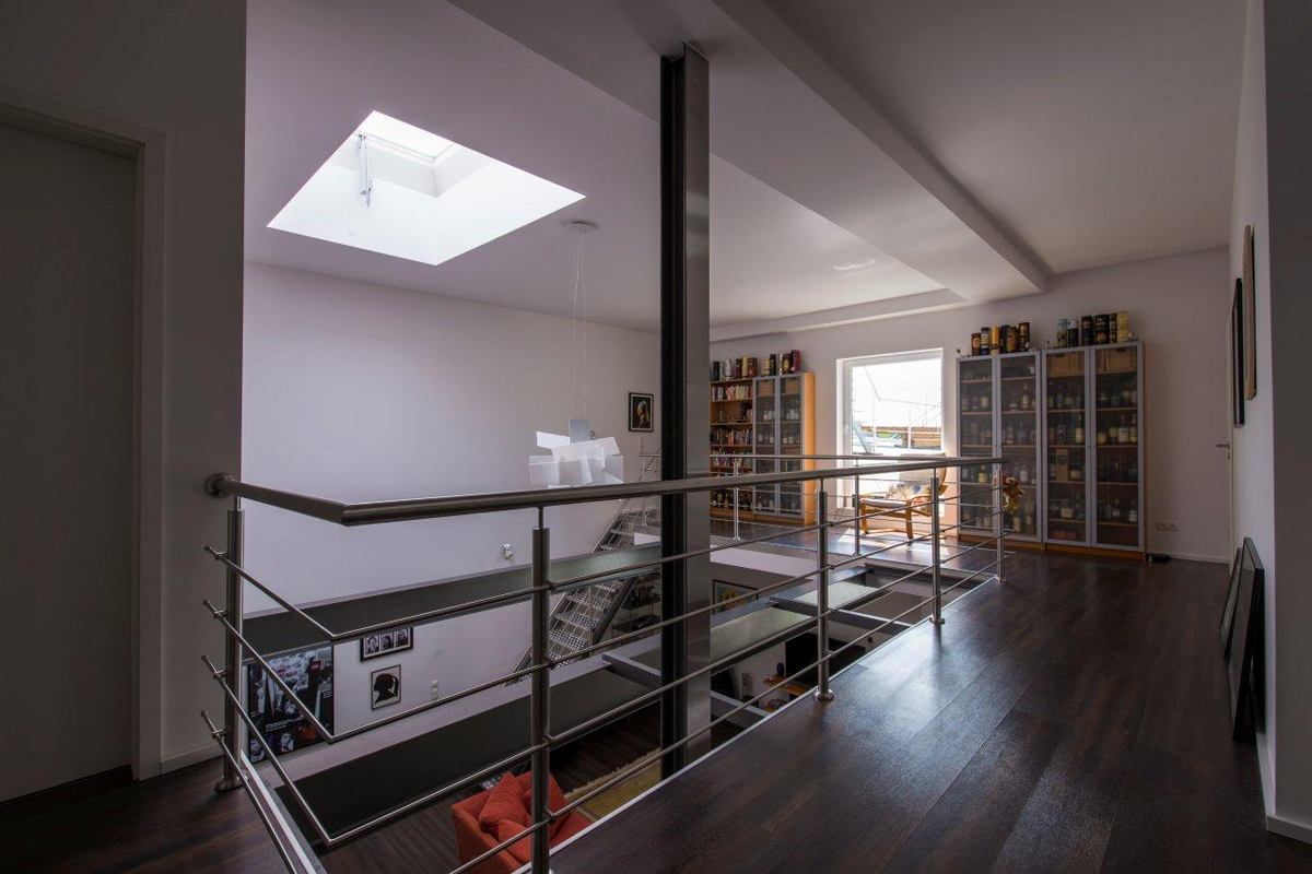 loft wohnung mit 153 m wohnfl che im binnerpark verkauft immobilienmakler solingen und. Black Bedroom Furniture Sets. Home Design Ideas